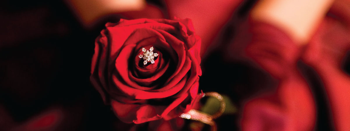 最高の結婚記念日プレゼント、フラワージュエリー