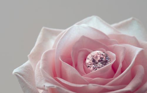 最愛の妻に贈る結婚記念日の贈り物にはバラとダイヤモンドで祝おう