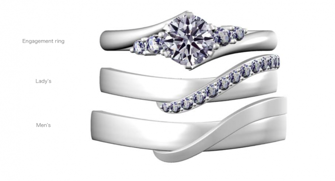 婚約指輪_結婚指輪_重ねづけ