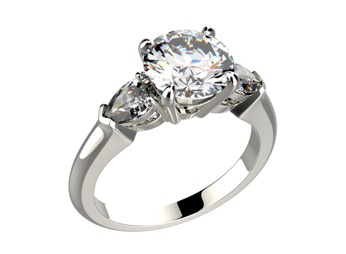 婚約指輪_エンゲージリング_サイドストーン