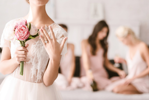 婚約指輪_重ね付け_着用_エンゲージリング_結婚式