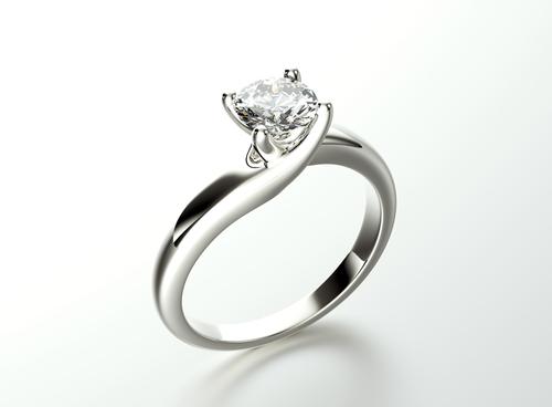 ダイヤモンド_婚約指輪_妻_贈り物_バラ_花束_フラワージュエリー_サプライズ_夫婦_プロポーズ_ダイヤモンドリング