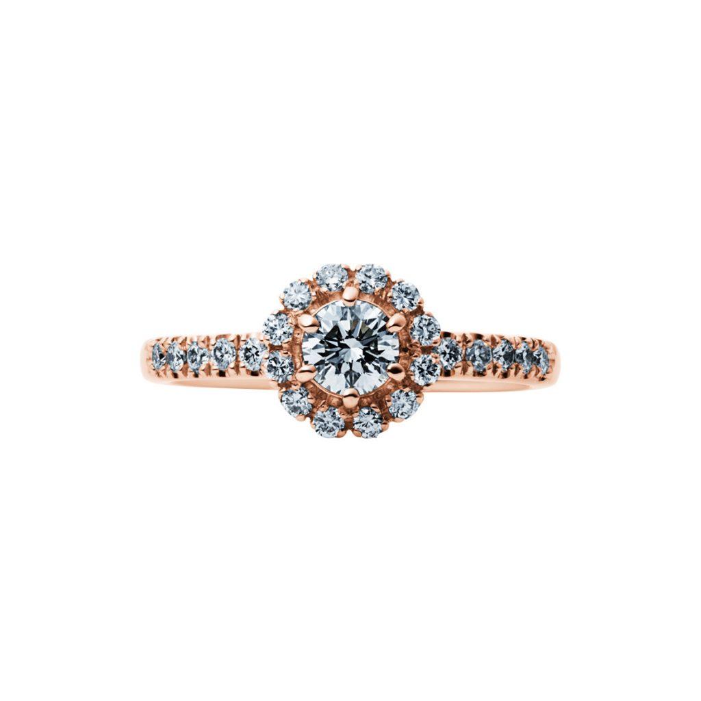 EIKA-婚約指輪-エンゲージリング-ブーケ-ピンクゴールド-ローズゴールド