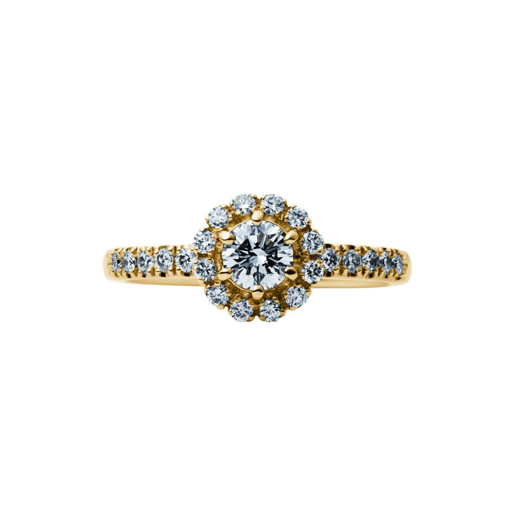 EIKA-婚約指輪-エンゲージリング-ブーケ-イエローゴールド