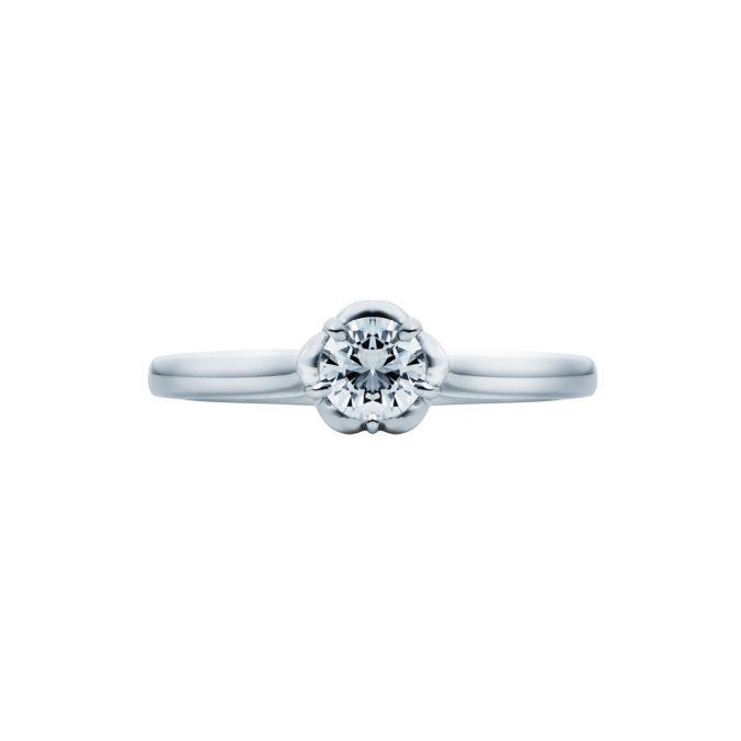 婚約指輪-エンゲージリング-EIKA-指輪-プロポーズ-バラ-ローズ-ソリテール