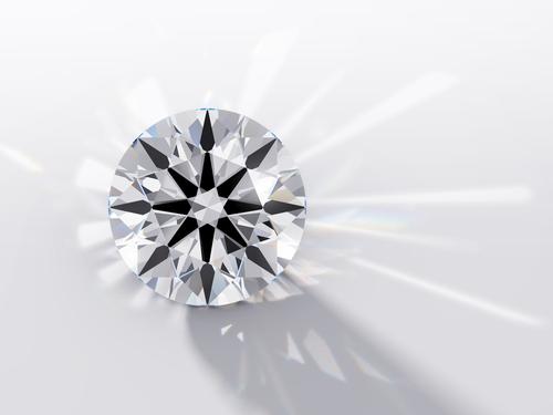 ダイヤモンド-ハートアンドキューピッド