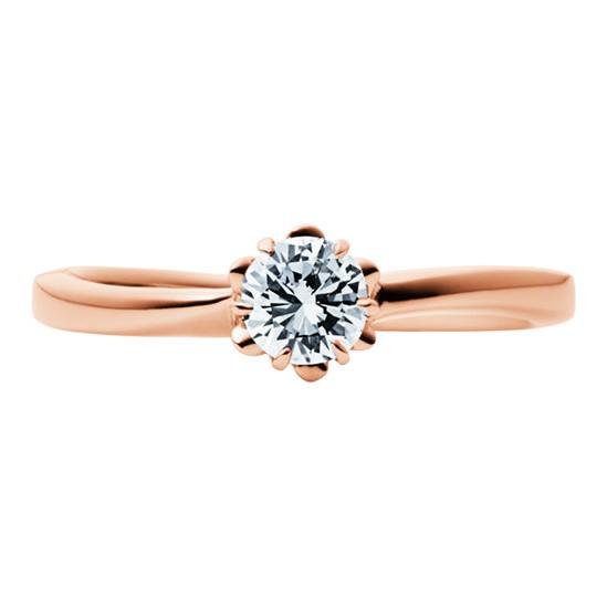 婚約指輪-エンゲージリング-EIKA-ウェーブライン_バラ_FJEC_EC1012_K18RG_K18PG_ローズ