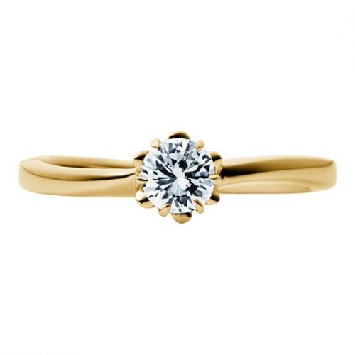 婚約指輪-エンゲージリング-EIKA-ウェーブライン_バラ_FJEC_EC1012_K18YG_ローズ