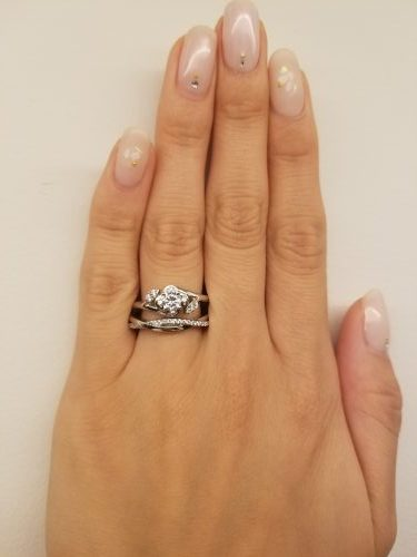 婚約指輪-カラット-エンゲージリング-EIKA_重ね付け_EC1030_MC1044