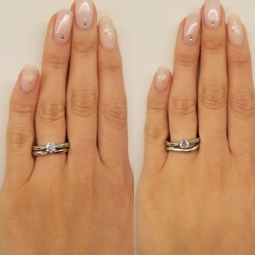 結婚指輪-マリッジリング-相性-結婚式-重ね付け