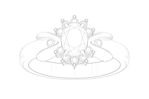婚約指輪-エンゲージリング-オーダーメイド-デザイン