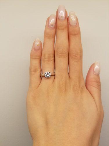 婚約指輪-エンゲージリング-プロポーズ-デザイン-ソリテール