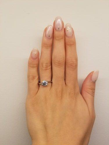 婚約指輪-エンゲージリング-プロポーズ-デザイン-ウェーブ