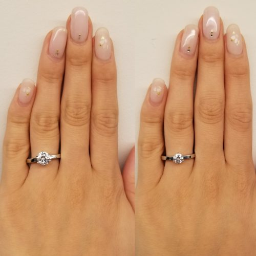 hot sale online 488d7 450d4 婚約指輪で人気なカラットは?   最高の婚約指輪とプロポーズ