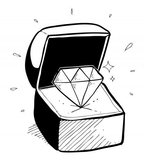 ダイヤモンドプロポーズ-婚約指輪-エンゲージリング-プロポーズ-サプライズ