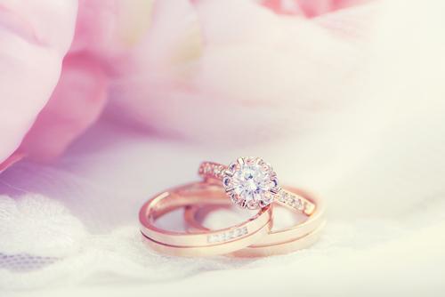 結婚指輪_婚約指輪_重ね着け_ブライダルリング_プレ花嫁