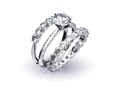 結婚指輪_婚約指輪_重ね付け_エタニティ_プロポーズリング_デザイン画