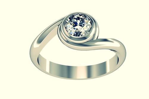 婚約指輪_ウェーブ