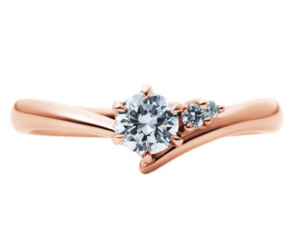 婚約指輪_EC1033_K18PG_EIKA