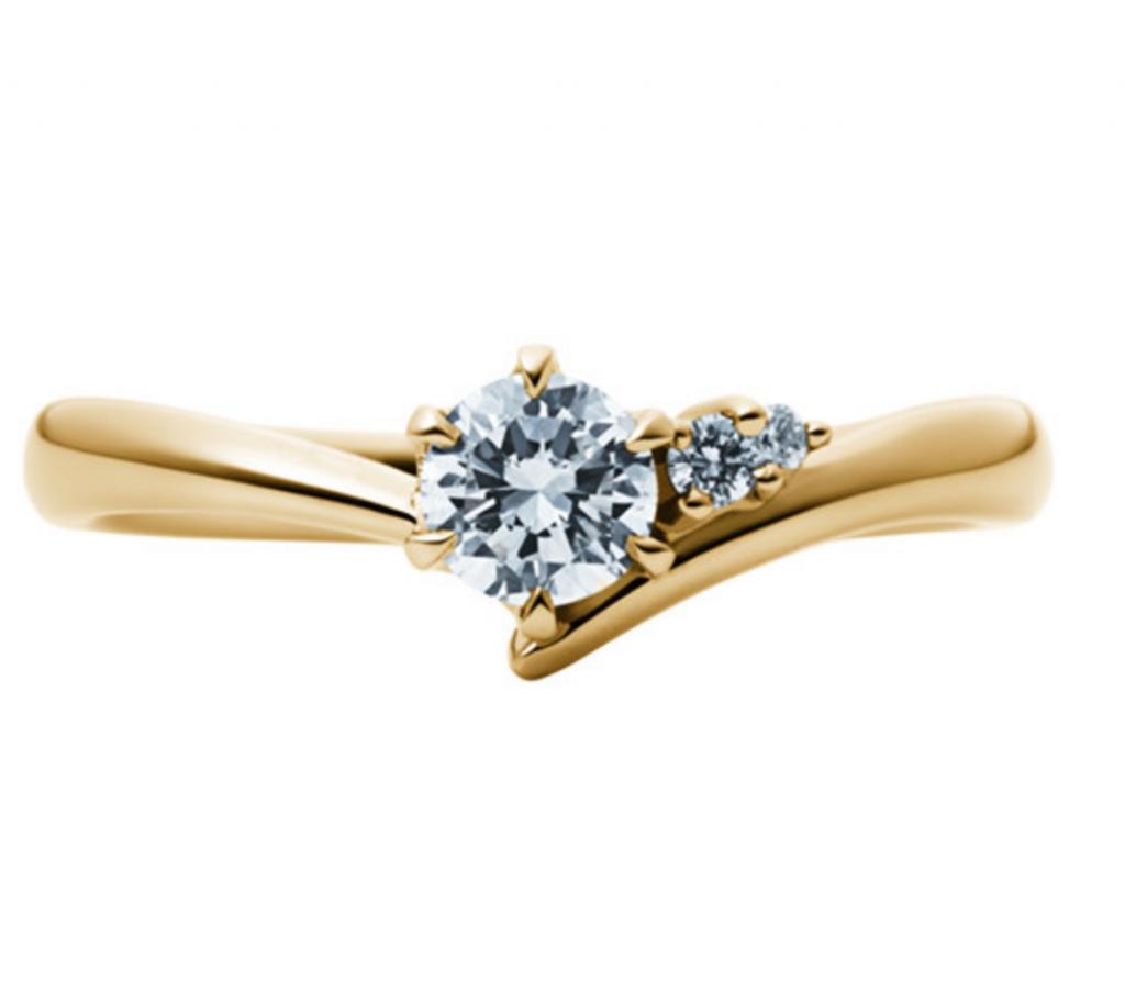婚約指輪_EC1033_K18YG_EIKA