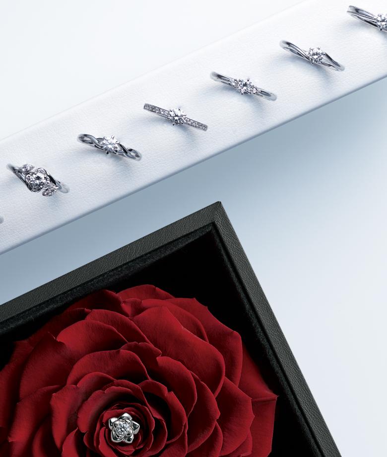 EIKA_フラワージュエリー_エンゲージメント_婚約指輪_プロポーズプレゼント_ダイヤモンドプロポーズ