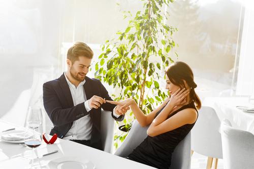 プロポーズ _婚約指輪