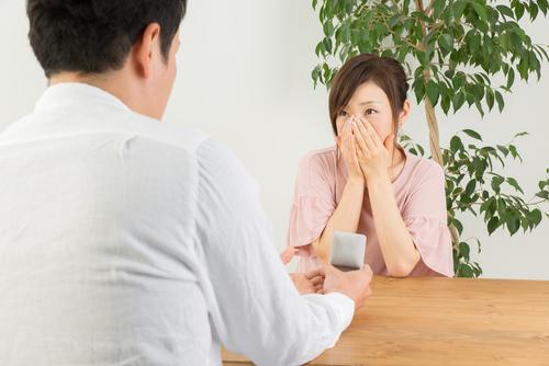 プロポーズ_自宅_感動